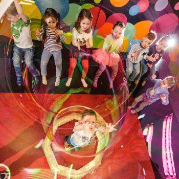 Bublinová show pre deti